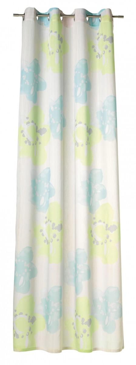 esprit fertigschal dekoschal senschal bonita gr n blau 140x250cm fertiggardinen senschals. Black Bedroom Furniture Sets. Home Design Ideas